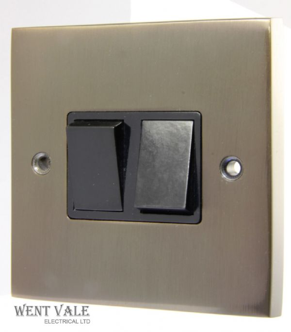 Heritage Brass Victorian Bronze Range - BZV992BN - 2 Gang 2 Way Plate Switch